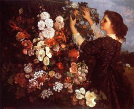 Courbet, Het latwerk