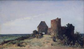 Jongkind, Ruïnes van het Chateau de Rosemont