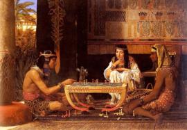 Alma-Tadema, Egyptische schakers