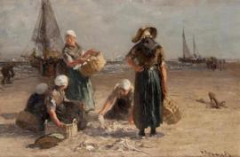 Blommers, Vissersvrouwen op het strand