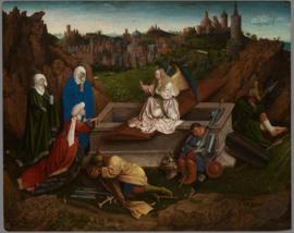 Van Eyck, Drie Maria's bij het graf
