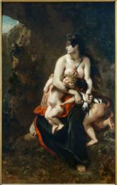 Delacroix, Woedende Medea