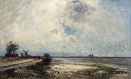 Jongkind, Hollands landschap