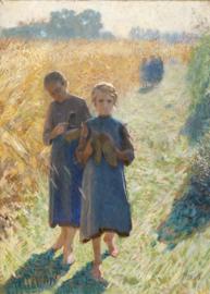 Claus, Meisjes in het veld