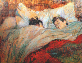 Toulouse-Lautrec, In bed