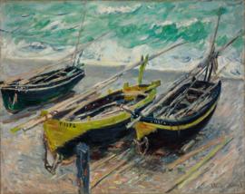 Monet, Drie vissersboten
