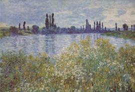 Monet, Aan de oever van de Seine bij Vetheuil