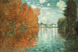 Monet, Herfst in Argenteuil