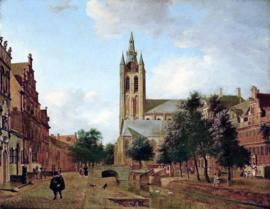 Van der Heyden, De oude kerk in Delft