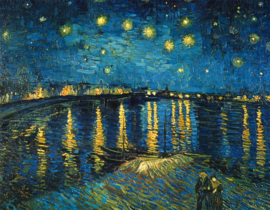 Van Gogh, Sterrennacht boven de Rhone