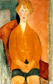 Modigliani, Jongen in korte broek