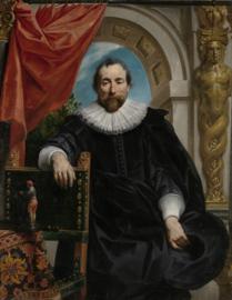 Jordaens, Portret van Rogier le Witer
