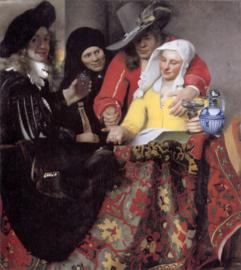 Vermeer, De koppelaarster