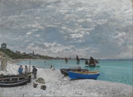 Monet, Het strand van Sainte-Adresse