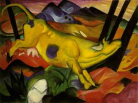 Marc, De gele koe