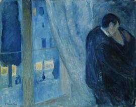 Munch, Kus bij het raam