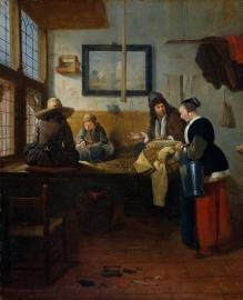 Van Brekelenkam, De kleermakerswerkplaats