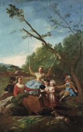 Goya, De schommel