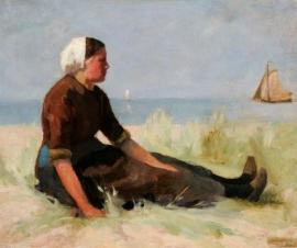 Mesdag, Vissersmeisje