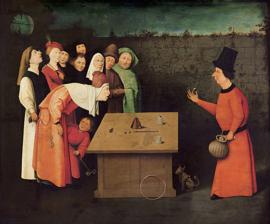 Bosch, De goochelaar