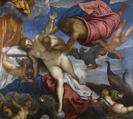 Tintoretto, De oorsprong van de Melkweg