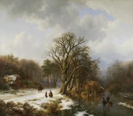 B.C. Koekkoek, Winterlandschap 4