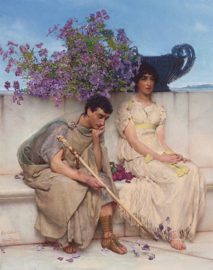Alma-Tadema, Welsprekende stilte