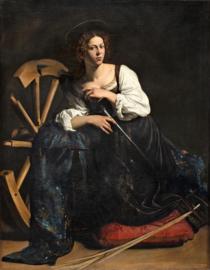 Caravaggio, Heilige Catharina van Alexandrie