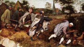Bruegel, De parabel van de blinde en de lamme