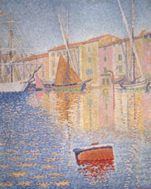 Signac, De haven van Saint-Tropez