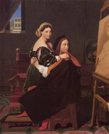 Ingres, Rafaël en Fornarina