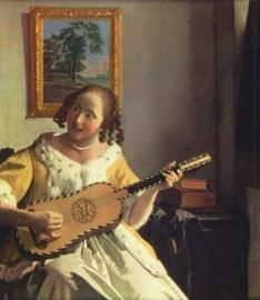 Vermeer, De gitaarspeelster