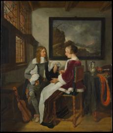 Van Brekelenkam, Sentimentele conversatie