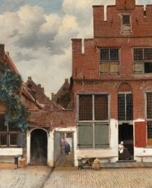 Vermeer, Het straatje in Delft