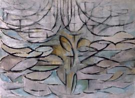 Mondriaan, Bloeiende appelboom