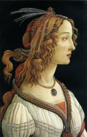 Botticelli, Portret van een jonge vrouw