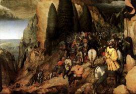 Bruegel, De bekering van Saul