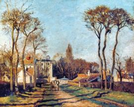 Pissarro, Ingang van het dorp Voisins