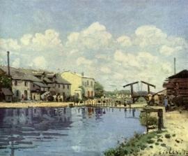 Sisley, Saint Martin kanaal