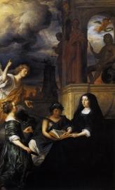 Flinck, Allegorie op de nagedachtenis van Frederik Hendrik