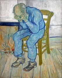 Van Gogh, Treurende oude man