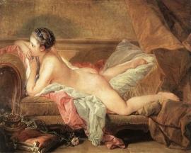 Boucher, Marie-Louise O`Murphy (rustend meisje)