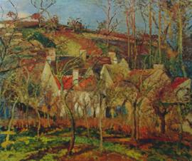 Pissarro, Rode daken