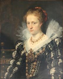 Rubens, Portret van Jacqueline van Caestre