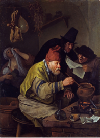 Steen, De dorpsalchemist