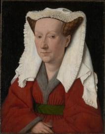 Van Eyck, Portret van Margareta van Eyck