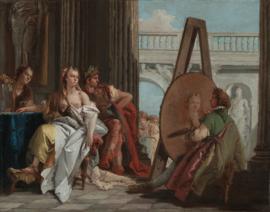 Tiepolo, Alexander en Campaspe in het atelier van Apelles