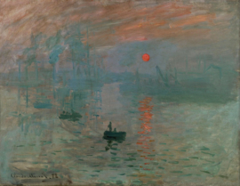 Monet, Impressie, zonsopgang