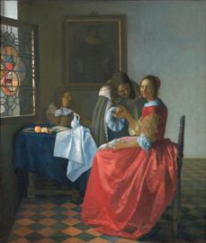 Vermeer, Het meisje met het wijnglas