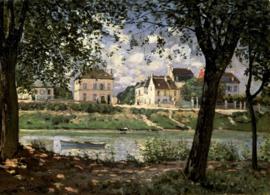 Sisley, Seine bij Saint Mammes